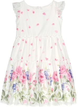 MonnaLisa Floral cotton dress