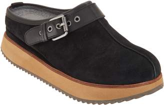 Earth Slip-On Clogs with Buckle Detail - Lyra