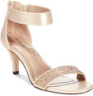 Style & Co. Phillyis Two-Piece Evening Sandals, Only at Macy's $69.50 thestylecure.com
