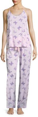 Asstd National Brand Love Dreams 2-pc. Geometric Pant Pajama Set