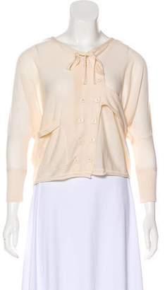 Balenciaga Lightweight Knit Cardigan