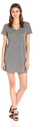 Michael Stars Women's Jersey Short Sleeve Dress with Pocket