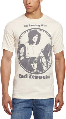 FEA Men's Led Zeppelin Evening With Circle Logo Mens T-Shirt