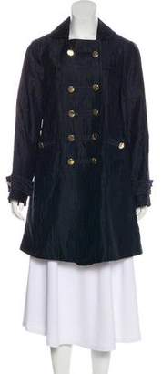 Marc Jacobs Geometric Double-Breasted Coat