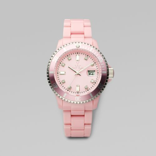 Toy Watch Crystal Stone Markers Plasteramic Watch