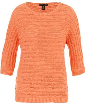 Tribal Fresh Orange Sweater