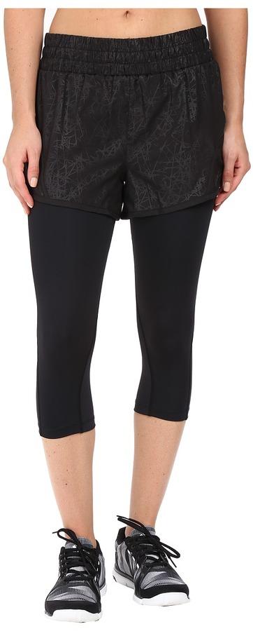 """2XU2XU Flex 3"""" Shorts w/ 70D 3/4 Tights"""