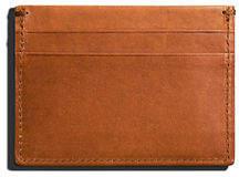 Shinola Men's Five-Pocket Leather Card Case