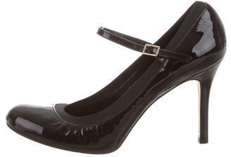 Kate SpadeKate Spade New York Patent Leather Round-Toe Pumps