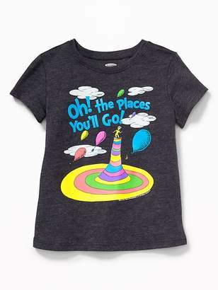 Old Navy Dr. Seuss Oh! The Places You'll Go! Tee for Toddler Girls