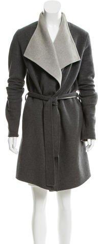 JOSEPHJoseph Wool-Blend Draped Coat