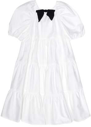 Il Gufo Stretch cotton dress