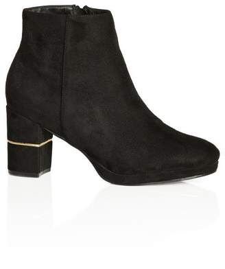 City Chic Citychic Gia Ankle Boot - black