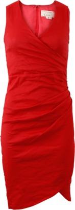 NICOLE MILLER Cotton Cross Dress $440 thestylecure.com