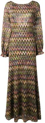 Missoni chevron-knit dress