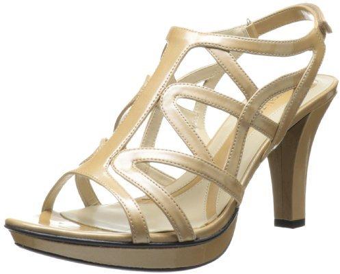Naturalizer Women's Danya Dress Sandal,Beige,5 M US