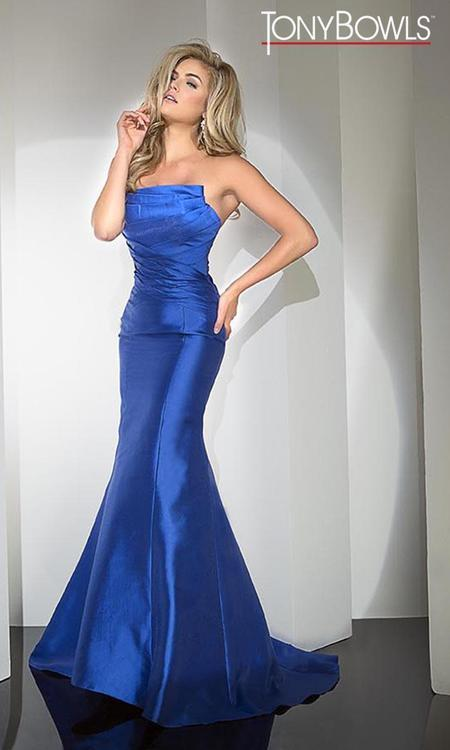 Tony Bowls - TB11683 Dress in Royal