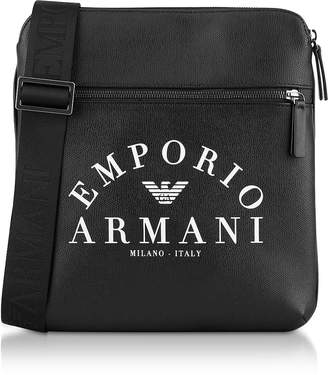 Emporio Armani Signature Large Mens Crossbody Bag