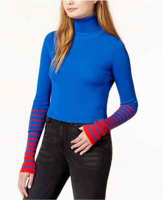 Tommyxgigi Cropped Turtleneck Sweater