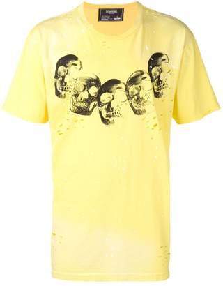 Dom Rebel skull print T-shirt