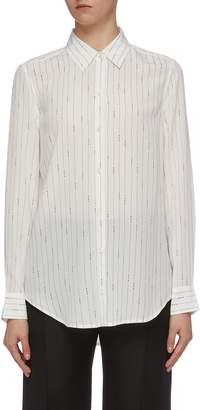 Equipment 'Essential' star pinstripe silk shirt
