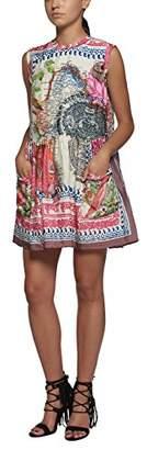 Replay Women's W9365 .000.71158 Sleeveless Dress - Multicolour