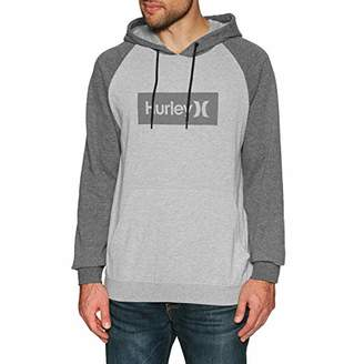 a4d2aef7eabd Hurley Men's Long Sleeve Fleece Pullover Hoodie