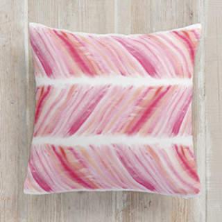 Brushed Herringbone Square Pillow