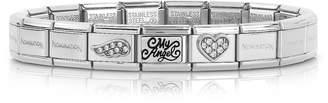 Nomination Classic My Angel Stainless Steel Women's Bracelet w/Cubic Zirconia