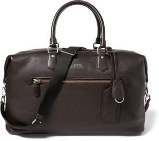 Ralph Lauren Pebbled Leather Duffel Bag