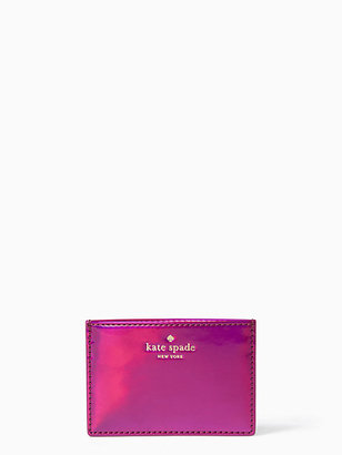 Rainer lane iridescent card holder $50 thestylecure.com