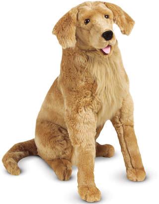 Melissa & Doug Plush Lifelike Giant Golden Retriever Dog