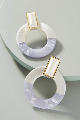 BaubleBar Emelda Hooped Post Earrings