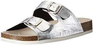 Qupid Women's Deco-01 Slide Sandal
