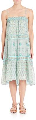 Calypso St. Barth Women's Carstens Printed Silk Dress