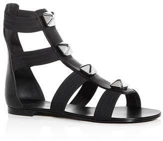 Giuseppe Zanotti Women's Glad Studded Leather Gladiator Sandals