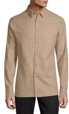 J. Lindeberg Classic Cotton Button-Down Shirt