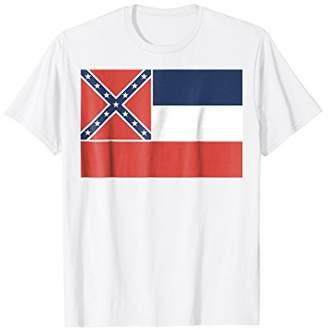 Mississippi MS state Flag T-shirt Tee Tees T Shirt Tshirt