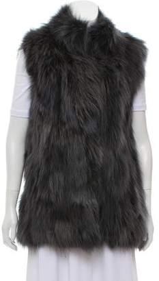 Pologeorgis Long Fur Vest