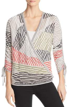 Nic+Zoe Multi-Color Four-Way Cardigan
