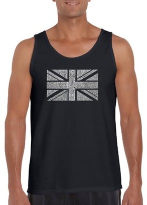 Los Angeles Pop Art Big Men's Tank Top - Union Jack