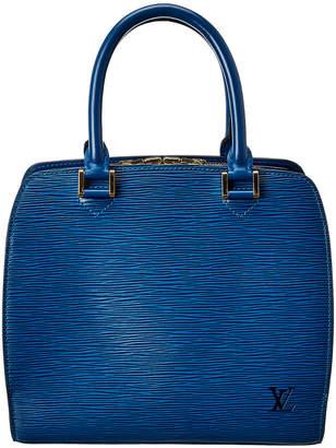 Louis Vuitton Blue Epi Leather Pont Neuf