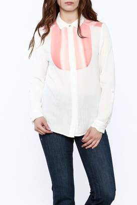 Quiksilver Gauze Button-Down Top $74 thestylecure.com