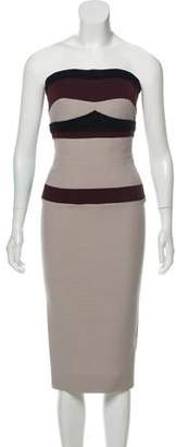 Victoria Beckham Fitted Wool Dress w/ Tags
