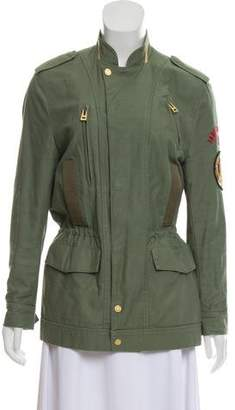 Zadig & Voltaire Embroidered Utility Jacket