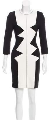 Kelly Wearstler Long Sleeve Knit Dress