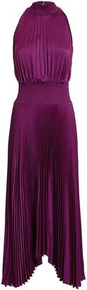 A.L.C. Renzo Orchid Pleated Dress