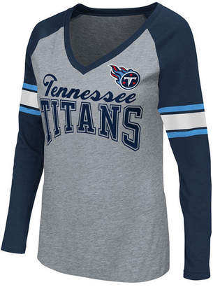 G-iii Sports Women's Tennessee Titans In the Zone Long Sleeve T-Shirt