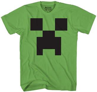 Novelty T-Shirts Boys Crew Neck Short Sleeve Minecraft T-Shirt Preschool / Big Kid