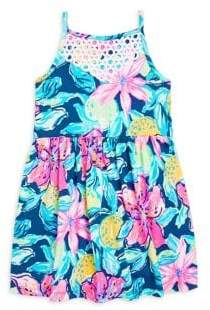 Lilly Pulitzer Toddler's, Little Girl's& Girl's Kinley Printed Cotton Dress